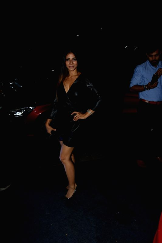 Actress Tanishaa Mukerji at Shantanu and Nikhil's store launch, in Mumbai on Dec 6, 2018. - Tanishaa Mukerji