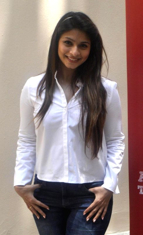 Actress Tanishaa Mukerji during a promotional event in Kolkata on May 19, 2017. - Tanishaa Mukerji