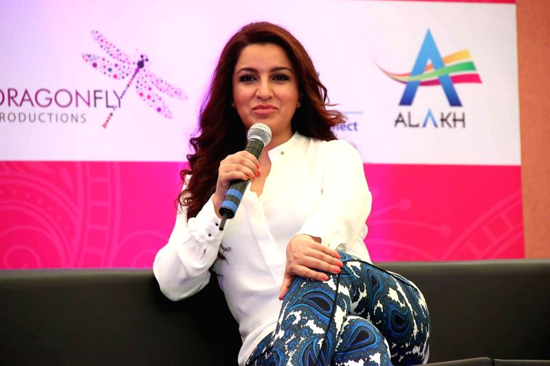 Actress Tisca Chopra during a event organised by `People Konnect` at Phoenix Market City in Mumbai on 28 June 2015.