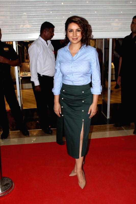 Actress Tisca Chopra during a store launch in Mumbai, on June 2, 2017. - Tisca Chopra