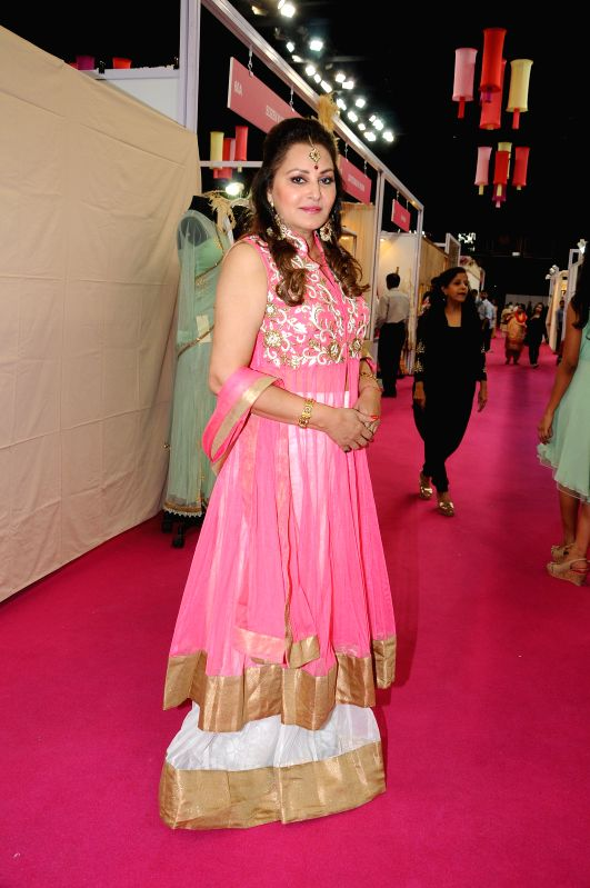 Actress-turned-politician Jaya Prada during the inauguration of Bridal Asia 2015, on April 10, 2015.