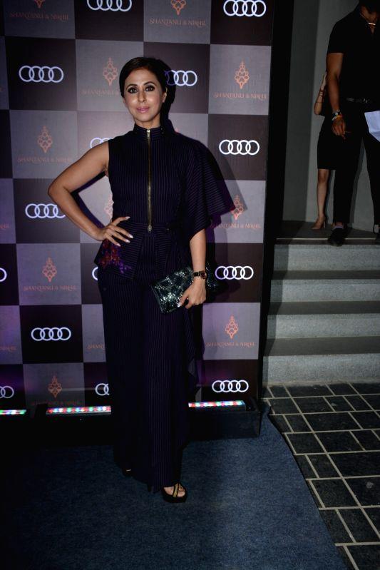 Actress Urmila Matondkar at Shantanu and Nikhil's store launch, in Mumbai on Dec 6, 2018. - Urmila Matondkar