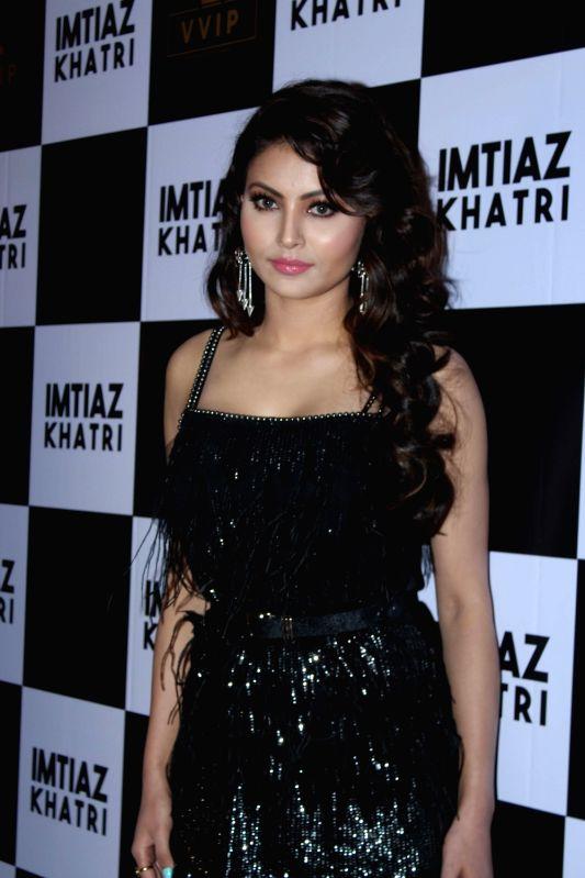 Actress Urvashi Rautela at producer Imtiaz Khatri's birthday bash in Mumbai on Sept 9, 2017.