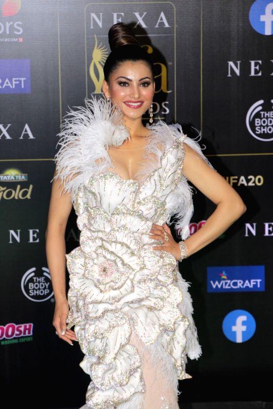 Actress Urvashi Rautela  at the Green Carpet of 20th IIFA Awards, in Mumbai on Sep 18, 2019.