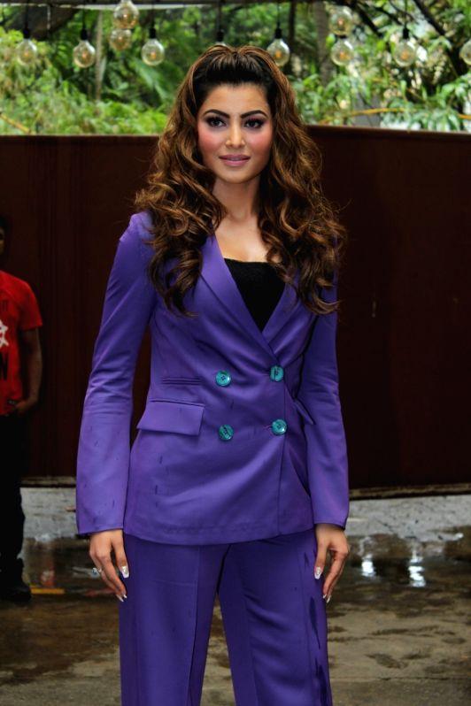 "Actress  Urvashi Rautela at the launch of her song ""Bijli Ki Taar"" in Mumbai on Sep 16, 2019."