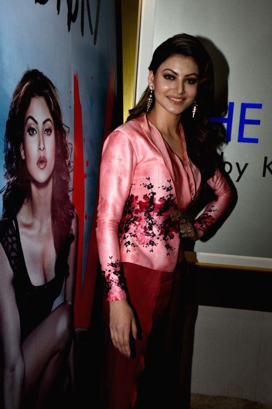 "Actress Urvashi Rautela at the song launch of her upcoming film ""Hate Story IV"" in Mumbai on Jan 31, 2018. - Urvashi Rautela"