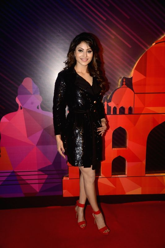 Actress Urvashi Rautela during a programme organised to unveil the winners of fbb Colors Femina Miss India 2018 in Mumbai on June 10, 2018. - Urvashi Rautela