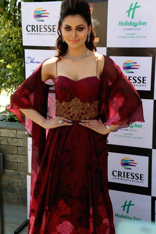 Actress Urvashi Rautela during photoshoot for a magazine in Mumbai on Feb 11, 2018.