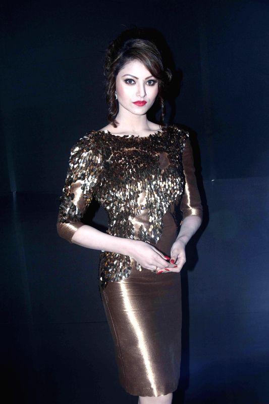 Actress Urvashi Rautela during the launch of new music album Desi Kalakaar in Mumbai on Aug. 26, 2014. - Urvashi Rautela