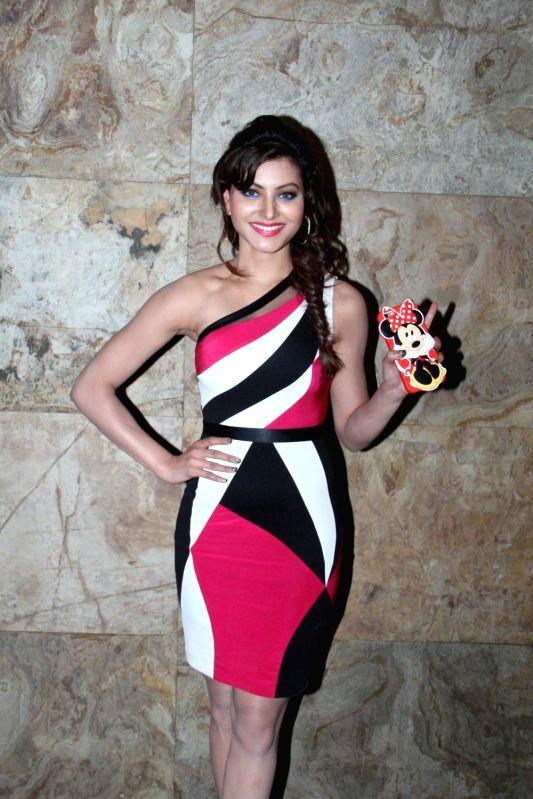 Actress Urvashi Rautela during the special screening of film Bangistan in Mumbai, on August 5, 2015.