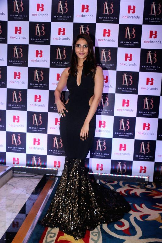 Actress Vaani Kapoor at the Brand Vision Summit and Awards in Mumbai on Jan 30, 2018. - Vaani Kapoor