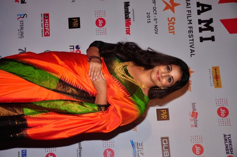 Actress Vidya Balan during Jio MAMI 17th Mumbai Film Festival Opening Ceremony in Mumbai on Oct 30, 2015. - Vidya Balan