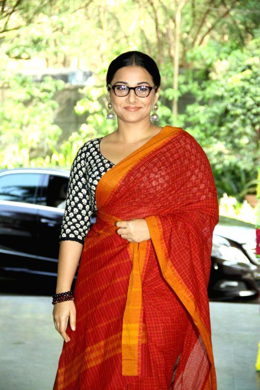 Actress Vidya Balan during the inauguration of `Celebrate Cinema` festival organised by Whistling Woods International in Mumbai on May 17, 2014. - Vidya Balan
