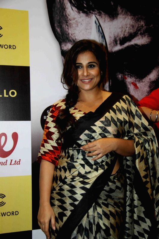 Actress Vidya Balan during the launch of his book Raakshas: India's no 1 Serial Killer in Mumbai on Dec 11, 2015.