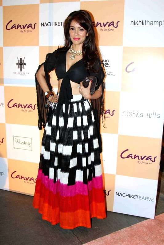 Actress Vidya Malvade during the launch of jewellery brand, Canvas by Jet Gems in Mumbai on Dec 3, 2015. - Vidya Malvade
