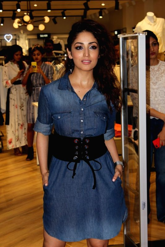Actress Yami Gautam during a store launch in Mumbai, on June 2, 2017. - Yami Gautam