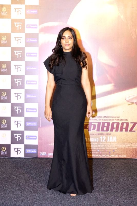 "Trailer launch of film ""Mukkabaaz"" - Zoya Hussain - Zoya Hussain"