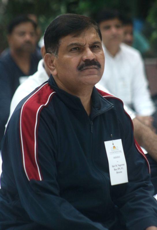 Additional Director M. Nageswara Rao. (File Photo: IANS) - M. Nageswara Rao