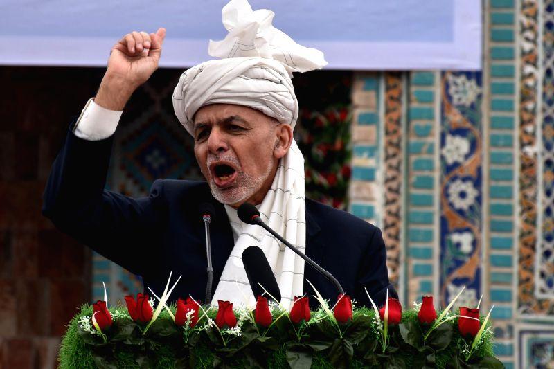 Afghan President Mohammad Ashraf Ghani. (Xinhua/Kawa Basharat/IANS)