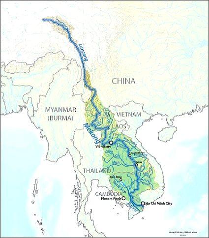 After Brahmaputra, Chinese dam construction on the Mekong raises hackles in Washington.(photo:India narrative)