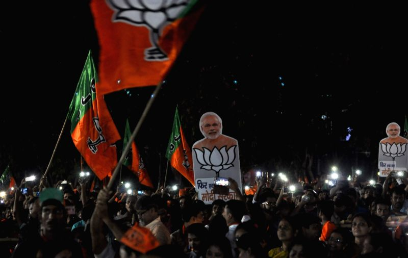 After the seventh and final phase of the 17th Lok Sabha polls ended on Sunday, the unofficial 'Satta Bazaar' here had bookies and punters in a tizzy with the predictions made in exit polls which were declared tonight largely favouring Prime Minister