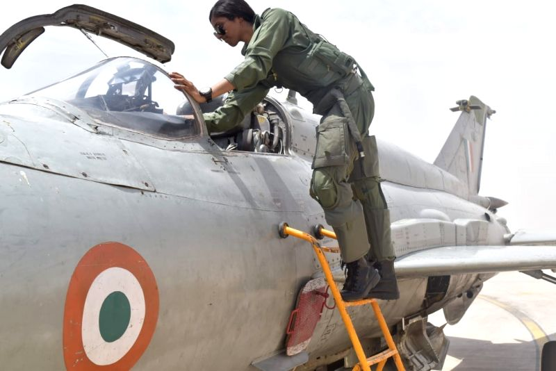 Agartala: Flight Lieutenant Bhawana Kanth becomes the first woman fighter pilot to be qualified to undertake missions on a fighter aircraft after she completed Day operational syllabus on MiG-21 Bison aircraft, on May 22, 2019. She had joined fighter