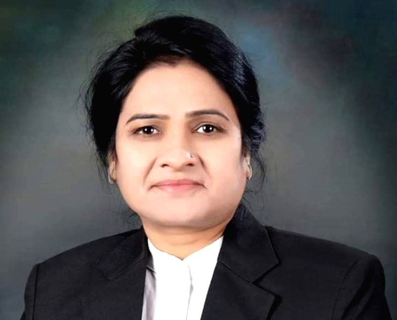 Agra: Darwesh Yadav, the first woman President of the Uttar Pradesh Bar Council who was shot dead in Agra Civil courts allegedly by her own colleague Manish Sharma, on June 12, 2019. (File Photo: IANS)