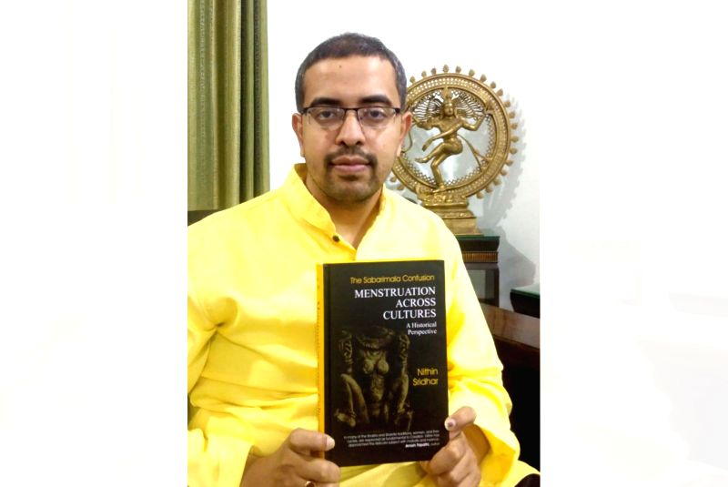 Nithin Sridhar, Hindu scholar and author of Menstruation Across Cultures -A Historical Perspective