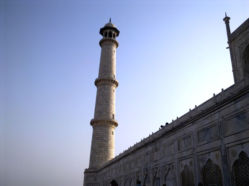 Agra: The Archaeological Survey of India (ASI) has begun extensive repair work on one of the four minarets of the Taj Mahal. The exercise has been undertaken after reports of damage and cracks in the stones and rusting of iron clamps.