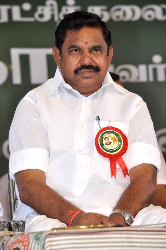 AIADMK leader E. Palanisamy.(Image Source: IANS)