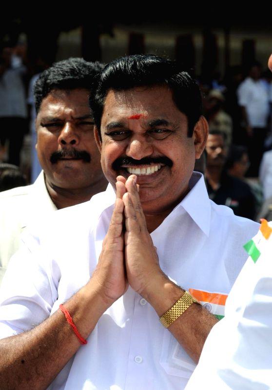 AIADMK leader E. Palaniswami.