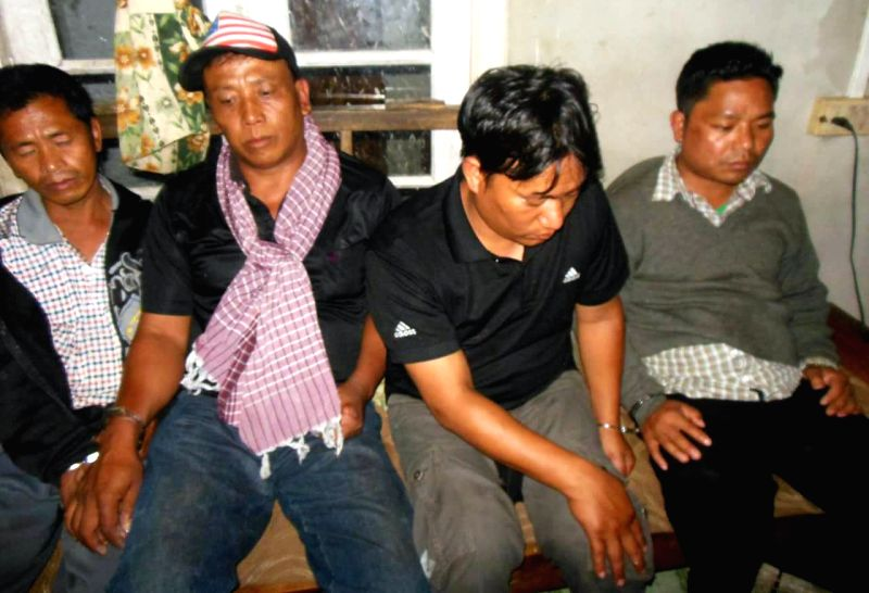 The four persons including two Myanmar nationals who were arrested by police with 50,000 Methamphetamine tablets (valued at Rs 1.5 crores in international market) of methamphetamine in Aizawl ...