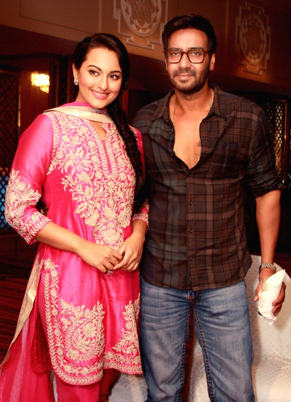 Son of Sardar - Ajay Devgan and Sonakshi Sinha