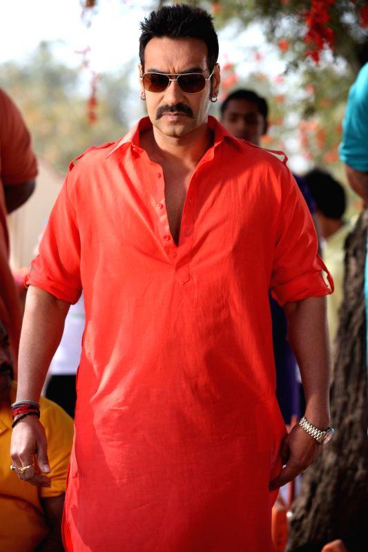 """Ajay Devgn in a still from """"Bol Bachchan"""". - Ajay Devgn and Bol Bachchan"""