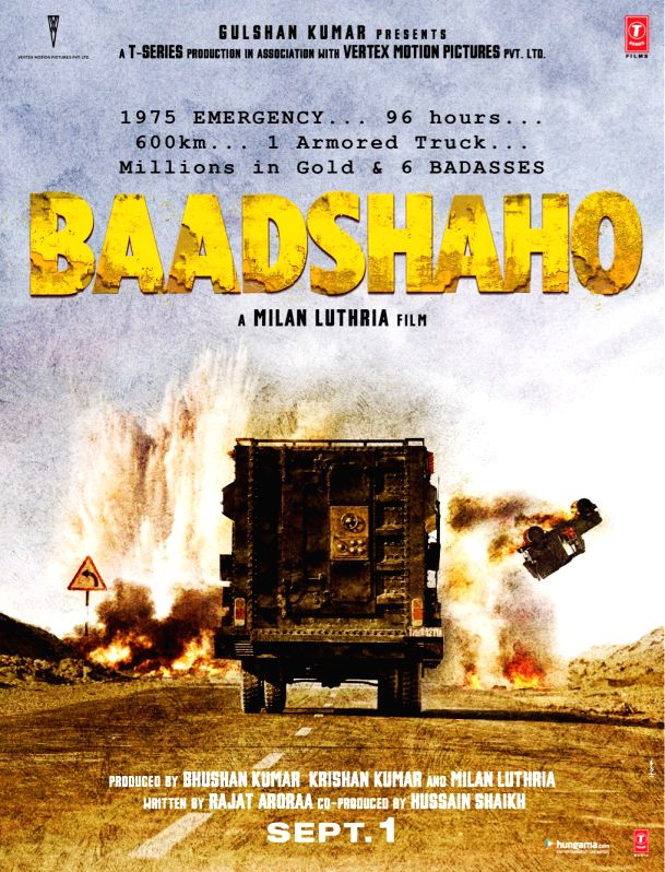 Ajay, Emraan release action-packed first look of \'Baadshaho\'