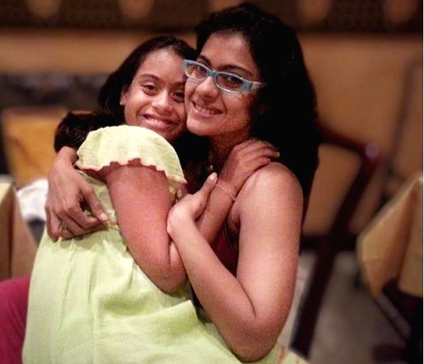 Ajay, Kajol wishes Nysa on Daughters' Day.