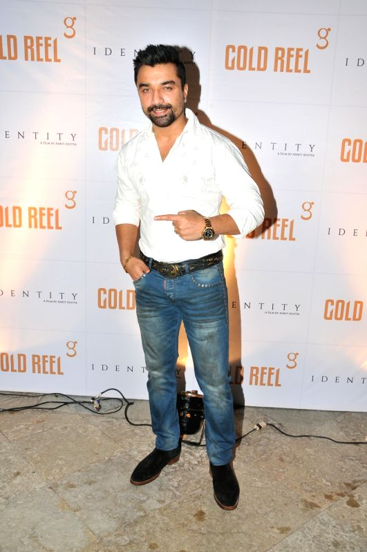 Ajaz Khan during the Gold Reel Productions launch party in Mumbai on Dec 1, 2015 - Ajaz Khan