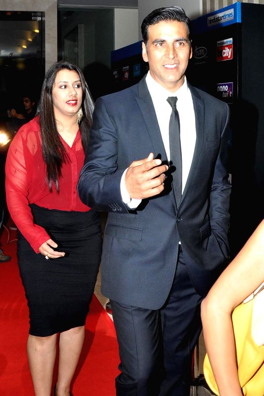 Akshay Kumar during the Red carpet of HT Delhi`s Most Stylish Awards at the Oberoi Hotel Gurgaon on April 18, 2014. - Akshay Kumar