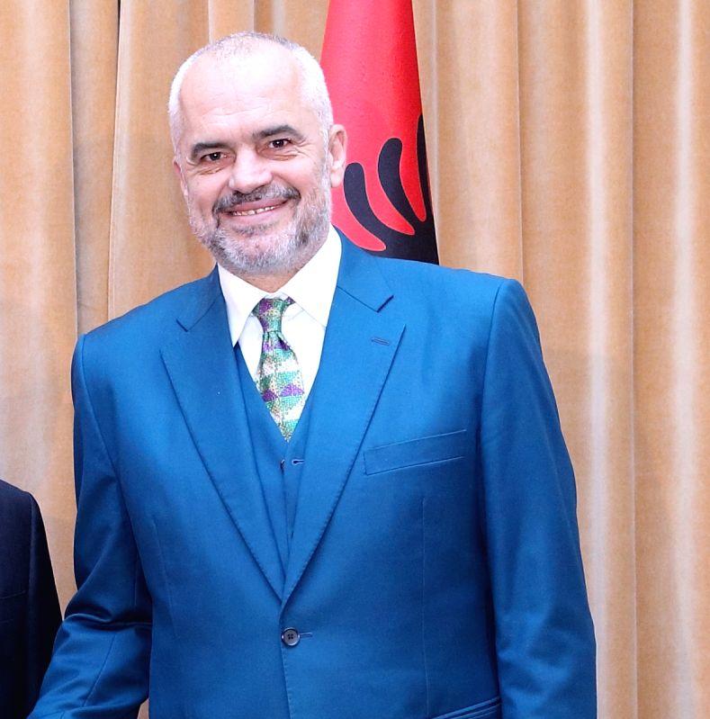Albania Prime Minister Edi Rama. (File Photo: IANS) - Edi Rama