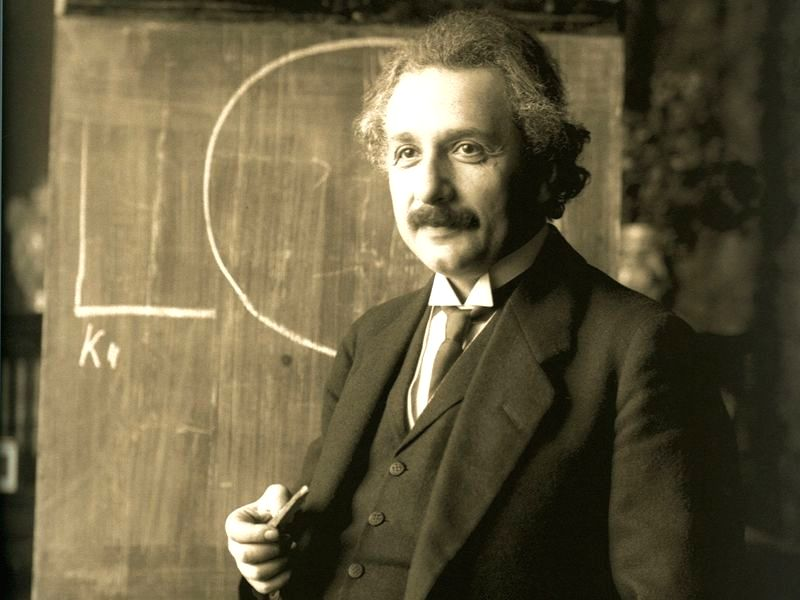 Albert Einstein, not only the most famous scientist of the 20th century but also one of its best writers.