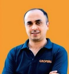 Albinder Dhindsa, co-founder and CEO, Grofers.
