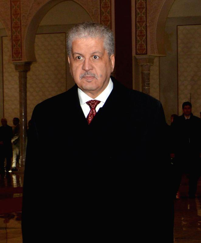 Algeria Prime Minister Abdelmalek Sellal. (File Photo: IANS) - Abdelmalek Sellal