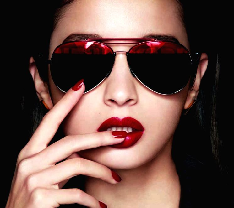 Alia Bhatt for Maybelline New York Big Apple Reds.
