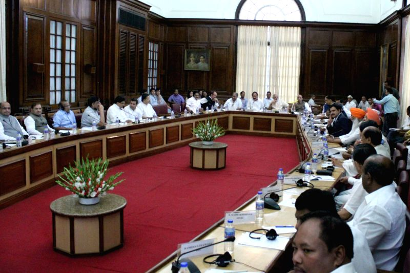 All party meeting called by Prime Minister Narendra Modi underway at the Parliament in New Delhi, on July 20, 2015. - Narendra Modi