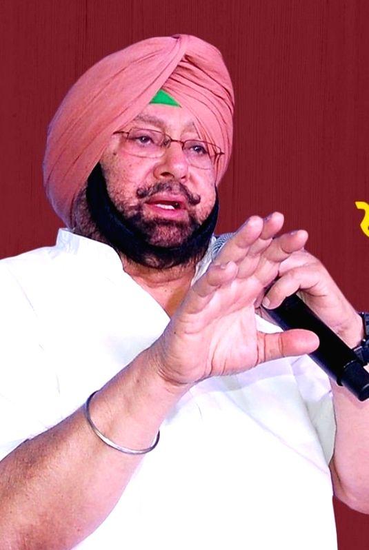Amarinder Singh.(photo:Amarinder Singh Facebook)