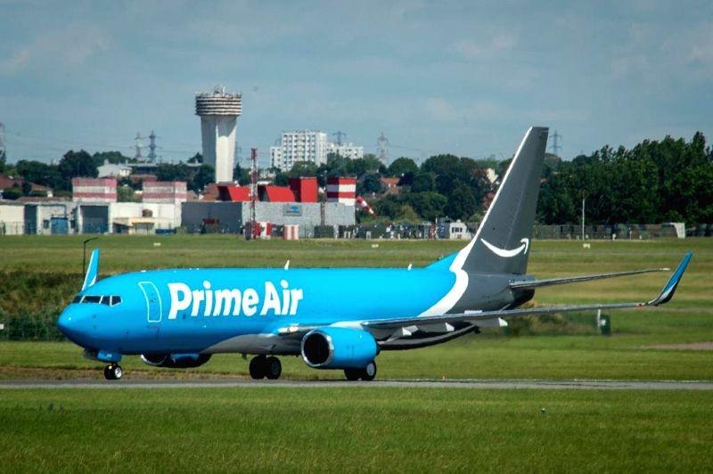 Amazon Air fleet. (Photo: Twitter/@amazonnews)