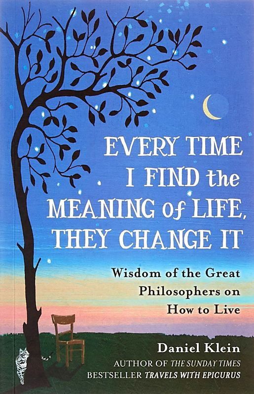 American author Daniel Klein\'s revised and updated collection of philosophical maxims on life and living collected as youth half a century ago