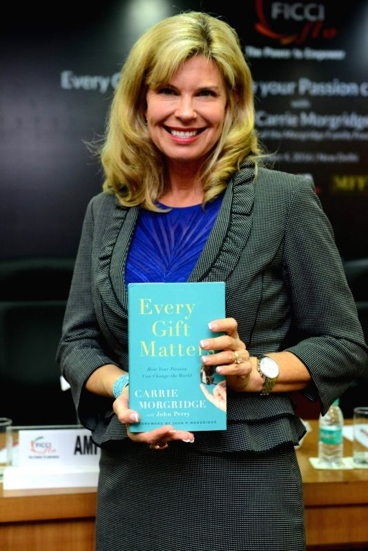 "Book launch - ""Every Gift Matters"