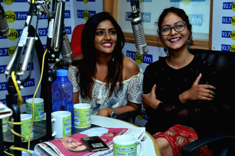 Ami Tumi Movie Team at BIG FM, on Hyderabad, June 4, 2017..