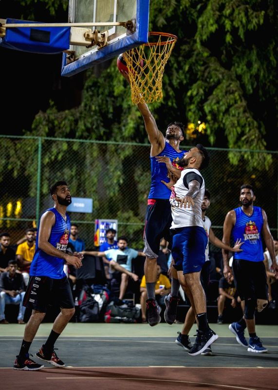 Amritpal Singh and Dhruv Barman in Action at Red Bull Reign.